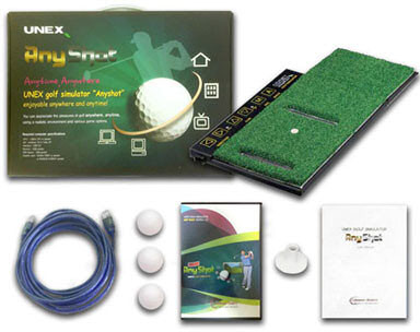 UNEX Advanced Golf Simulator System what is in the box