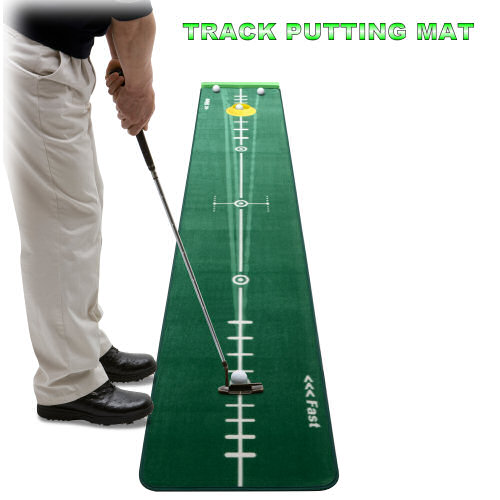 Track Putting Matte für ein realistisches Putt-Training