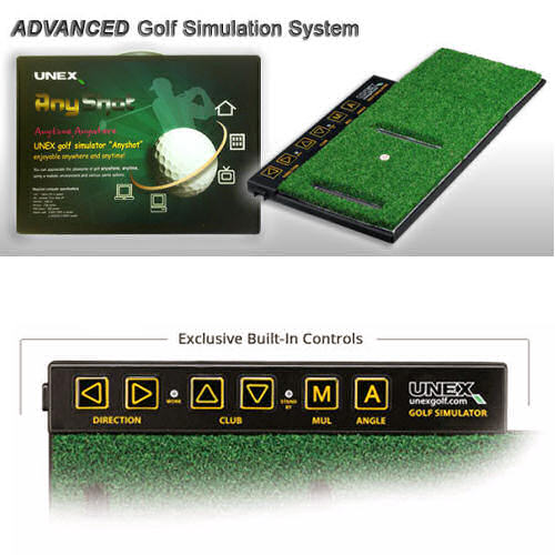 Unexanyshot advanced home golf simulator for Advanced home